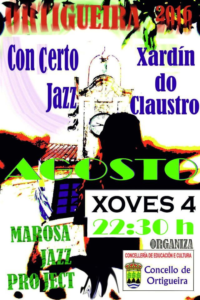cartel de marosa jazz