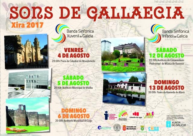 Cartel Sons de Gallaecia
