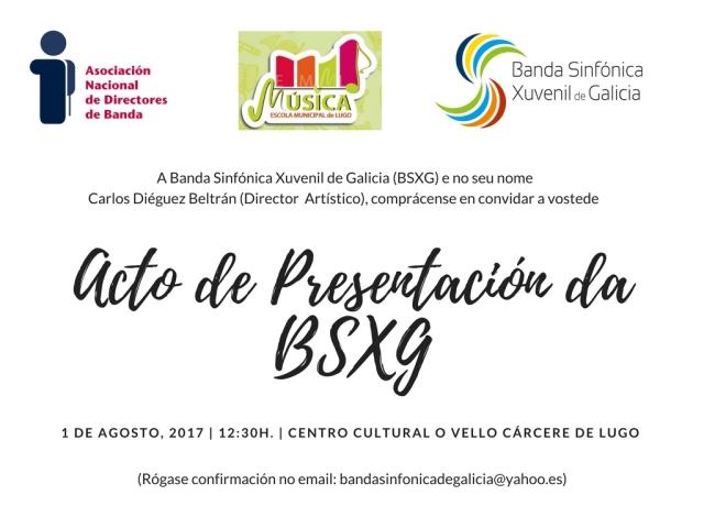 invitación BSXG.Lugo