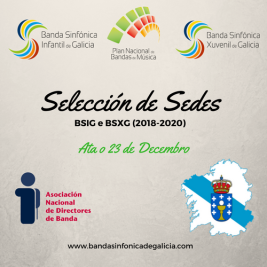Selección de Sedes 2018-2020